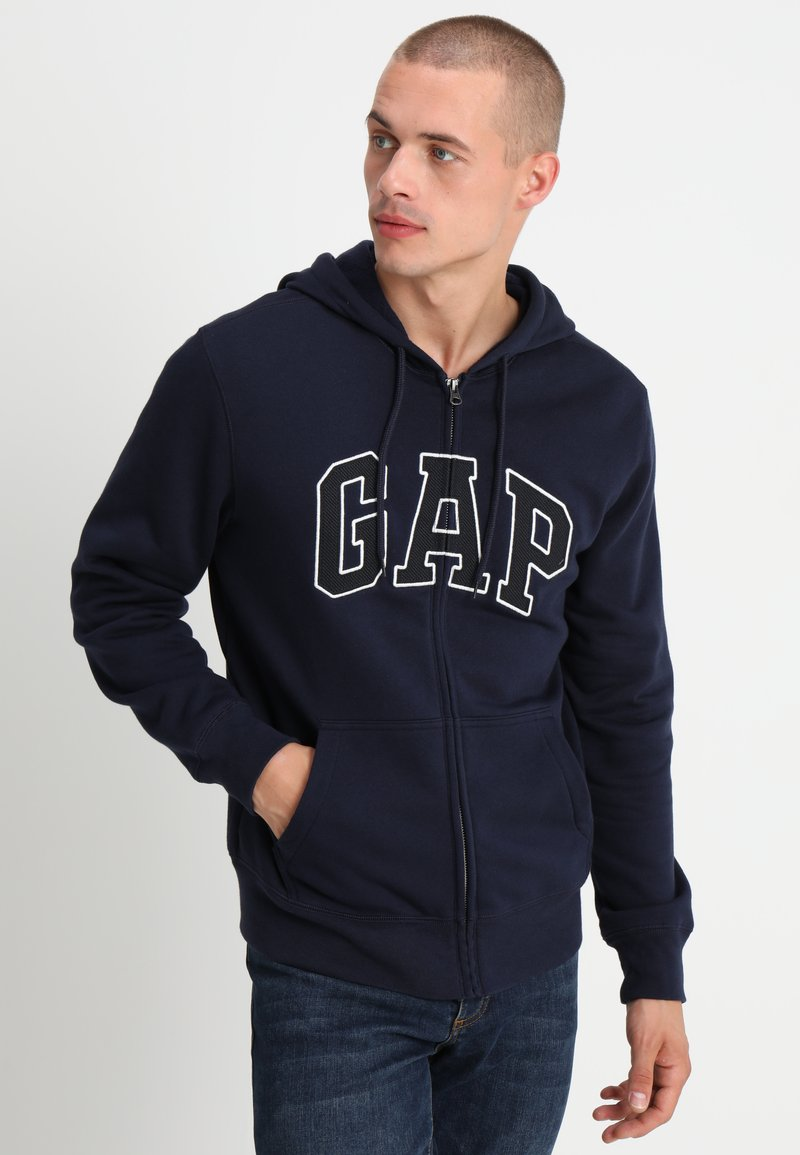 GAP - ARCH - Zip-up hoodie - tapestry navy