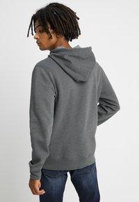 GAP - ARCH - Zip-up hoodie - charcoal grey - 2
