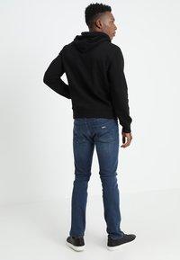 GAP - ARCH - veste en sweat zippée - true black - 2