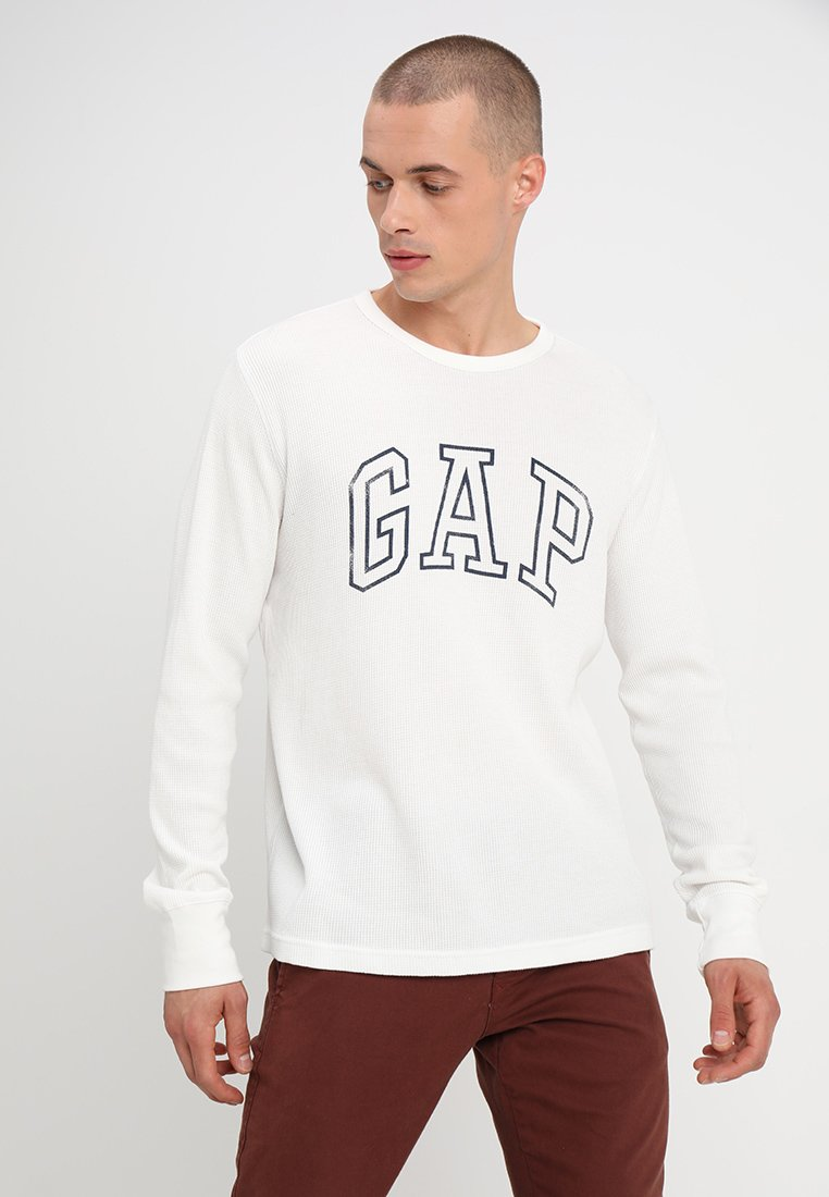 GAP - ARCH THERMAL - Long sleeved top - new off white