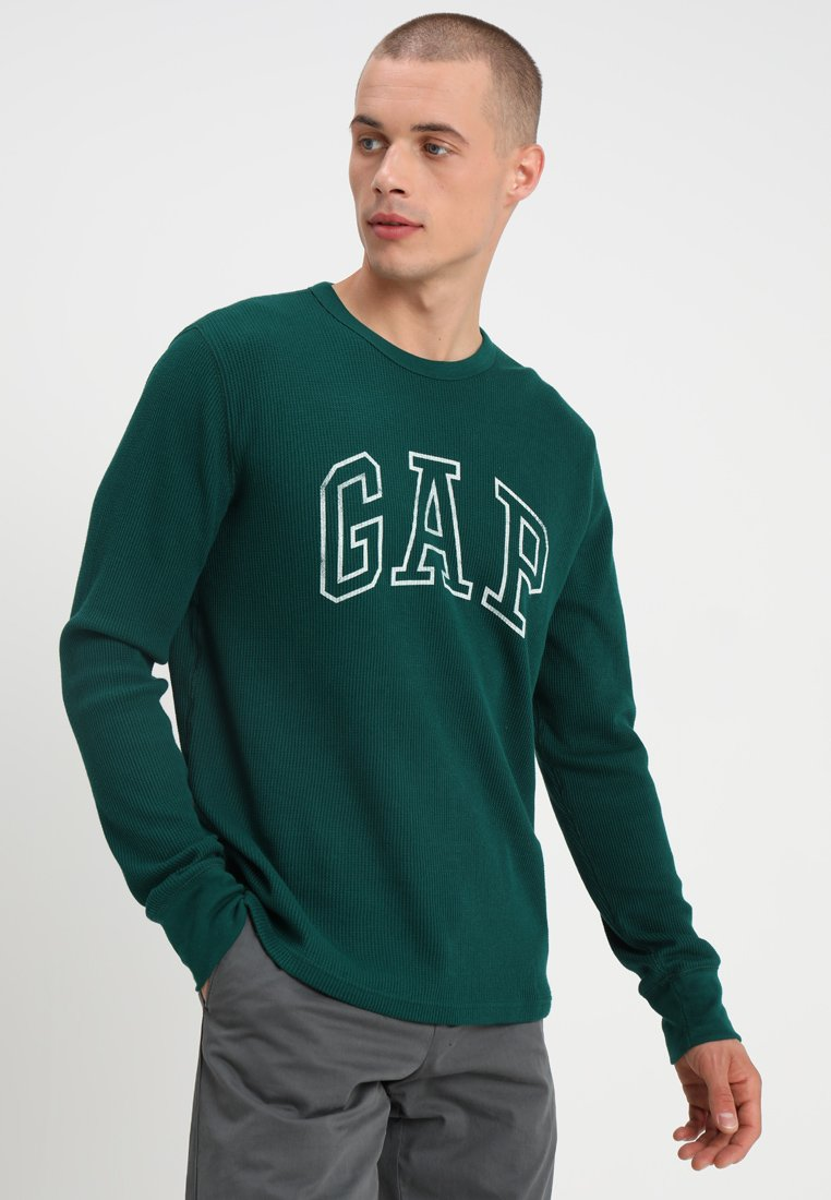 GAP - ARCH THERMAL - Long sleeved top - green pine