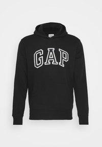 GAP - ARCH  - Mikina skapucí - true black - 4