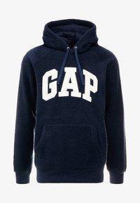 GAP - ARCH TEDDY - Sweat à capuche - tapestry navy - 3