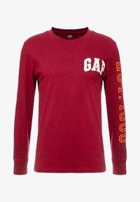 GAP - ARCH - Camiseta de manga larga - garnet - 3