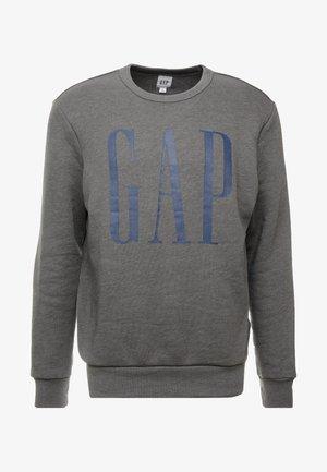LOGO CREW - Sweatshirt - charcoal grey