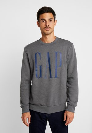 LOGO CREW - Sweater - charcoal grey