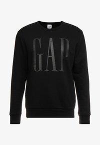 GAP - LOGO CREW - Sweatshirt - true black - 3