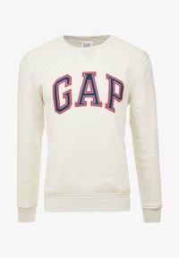 GAP - ARCH CREW - Sweater - oatmeal heather - 3
