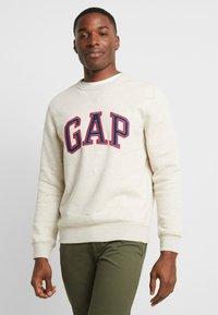 GAP - ARCH CREW - Sweater - oatmeal heather - 0
