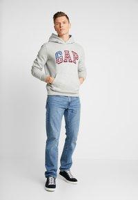 GAP - FLAG  - Sweat à capuche - grey heather - 1