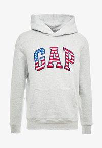 GAP - FLAG  - Sweat à capuche - grey heather - 4