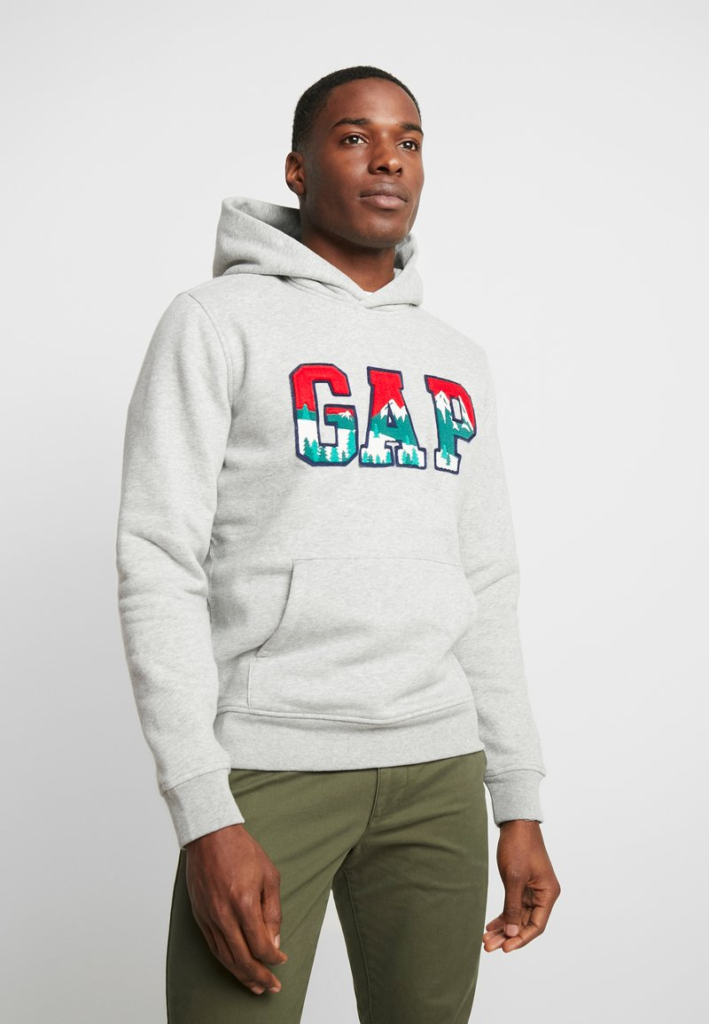GAP - MOUNTAIN ARCH - Hoodie - grey heather