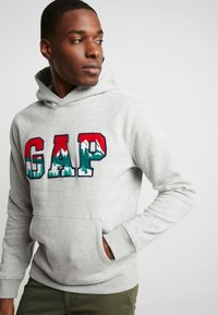 GAP - MOUNTAIN ARCH - Hoodie - grey heather - 3