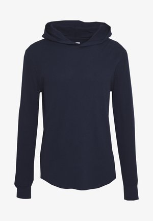 WAFFLE HOODIE - Bluza z kapturem - tapestry navy