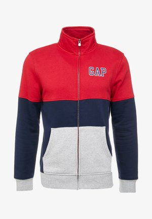 ARCH MOCK - veste en sweat zippée - tapestry navy