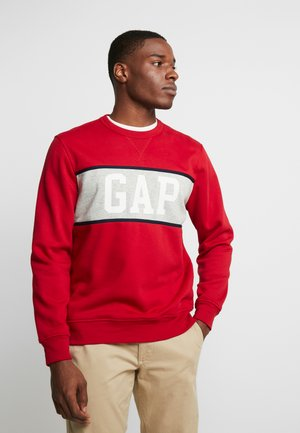 V-MINI CREW - Sweatshirt - lasalle red