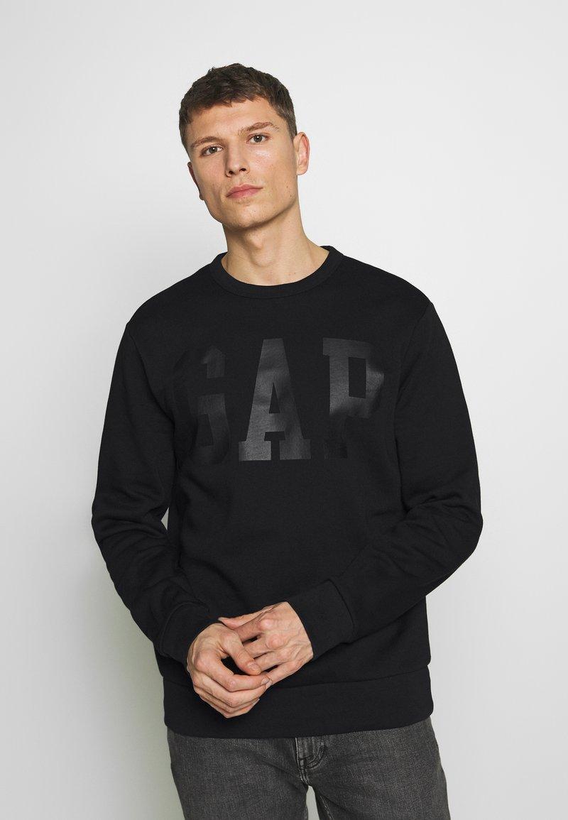 GAP - CREW - Sweatshirt - true black
