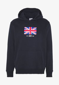GAP - UK FLAG - Huppari - new classic navy - 4
