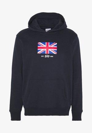 UK FLAG - Jersey con capucha - new classic navy