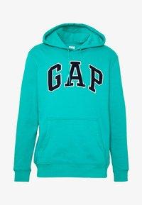 GAP - ARCH  - Sweat à capuche - green mirage - 4