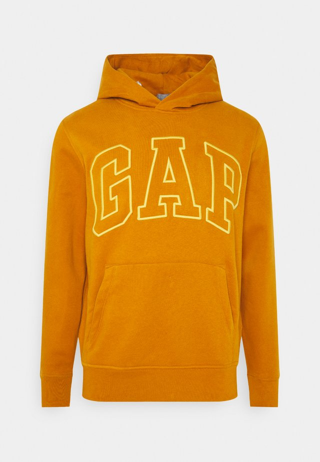 Jersey con capucha - autumn orange