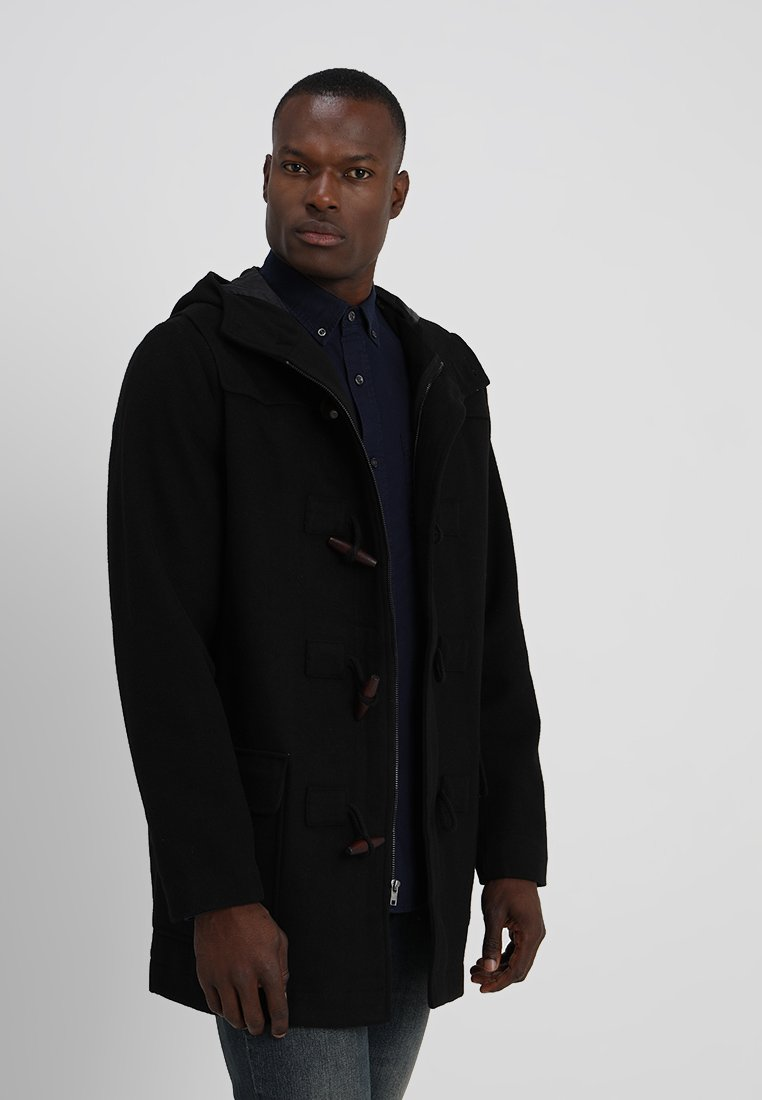 GAP - BLEND DUFFEL COAT - Classic coat - true black