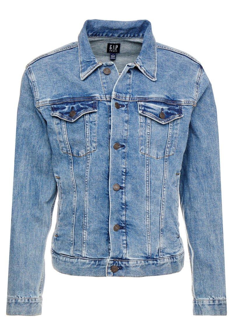 GAP - V-DENIM ICON CALM - Denim jacket - medium worn