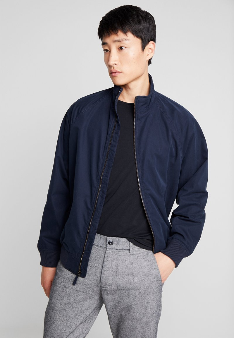 GAP - UNFILLED HARRINGTON  - Summer jacket - new classic navy