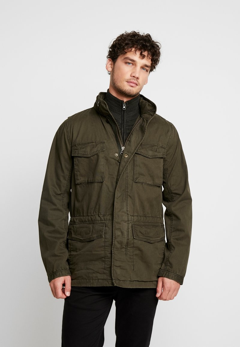 GAP - FATIGUE JACKET - Summer jacket - deep woods