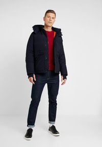 GAP - PUFFER JACKET - Zimní bunda - new classic navy - 1