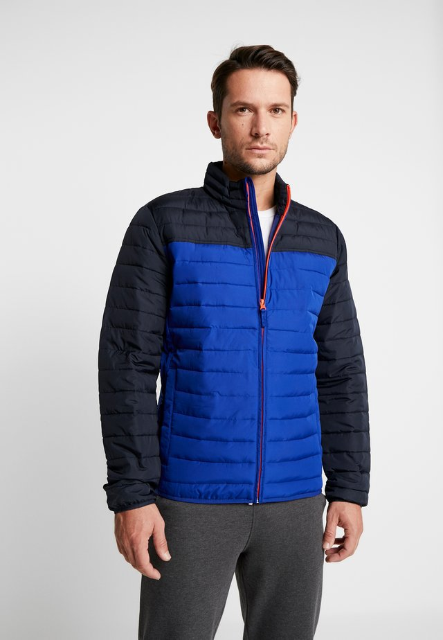 V-LIGHTWEIGHT PUFFER COLORBLOCK - Light jacket - bodega bay