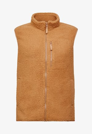 TEDDY BEAR VEST - Weste - kola nut