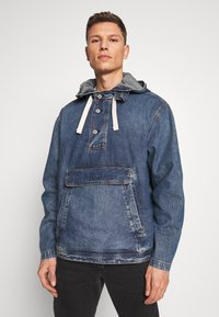 GAP - Kurtka jeansowa - washed denim blue - 0