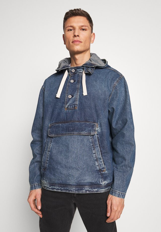 Kurtka jeansowa - washed denim blue