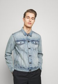 GAP - ICON  - Kurtka jeansowa - light blue denim - 0