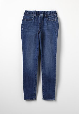 GIRLS WOVEN BOTTOMS  - Jegging - medium indigo
