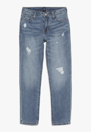 GIRL  - Relaxed fit jeans - medium wash