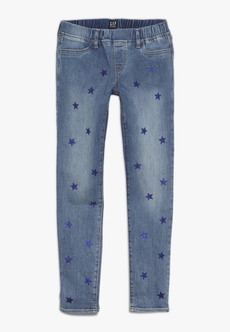 GAP - GIRL STAR  - Jeans Skinny Fit - light blue denim