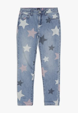 GIRL V-STAR - Jeans baggy - medium wash