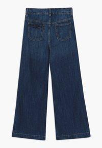 GAP - GIRL WIDE LEG - Jeans a zampa - dark wash - 1