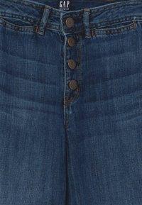 GAP - GIRL WIDE LEG - Jeans a zampa - dark wash - 3