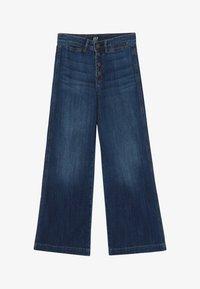 GAP - GIRL WIDE LEG - Jeans a zampa - dark wash - 2