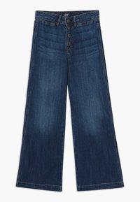 GAP - GIRL WIDE LEG - Jeans a zampa - dark wash - 0
