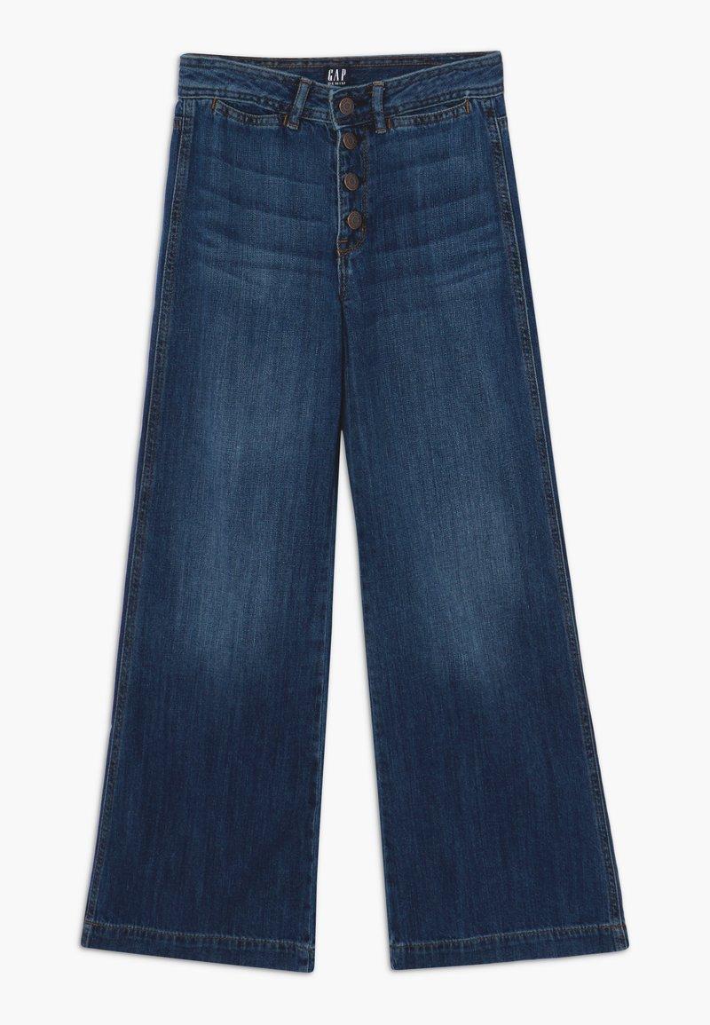 GAP - GIRL WIDE LEG - Jeans a zampa - dark wash
