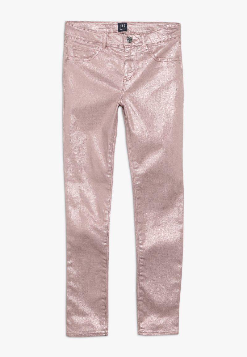 GAP - GIRL FOIL  - Jeggings - pink standard