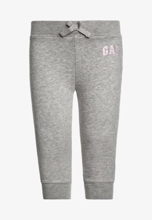 TODDLER GIRL LOGO  - Pantaloni sportivi - light heather grey