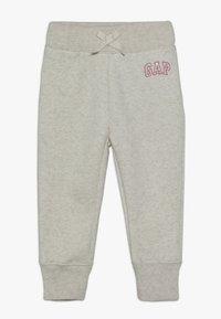 GAP - TODDLER GIRL LOGO  - Tracksuit bottoms - light heather grey - 0