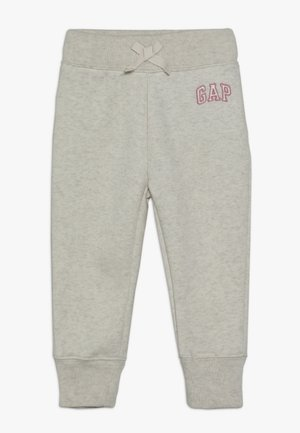 TODDLER GIRL LOGO  - Tracksuit bottoms - light heather grey