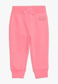 GAP - TODDLER GIRL LOGO  - Pantalon de survêtement - pink pop neon - 0