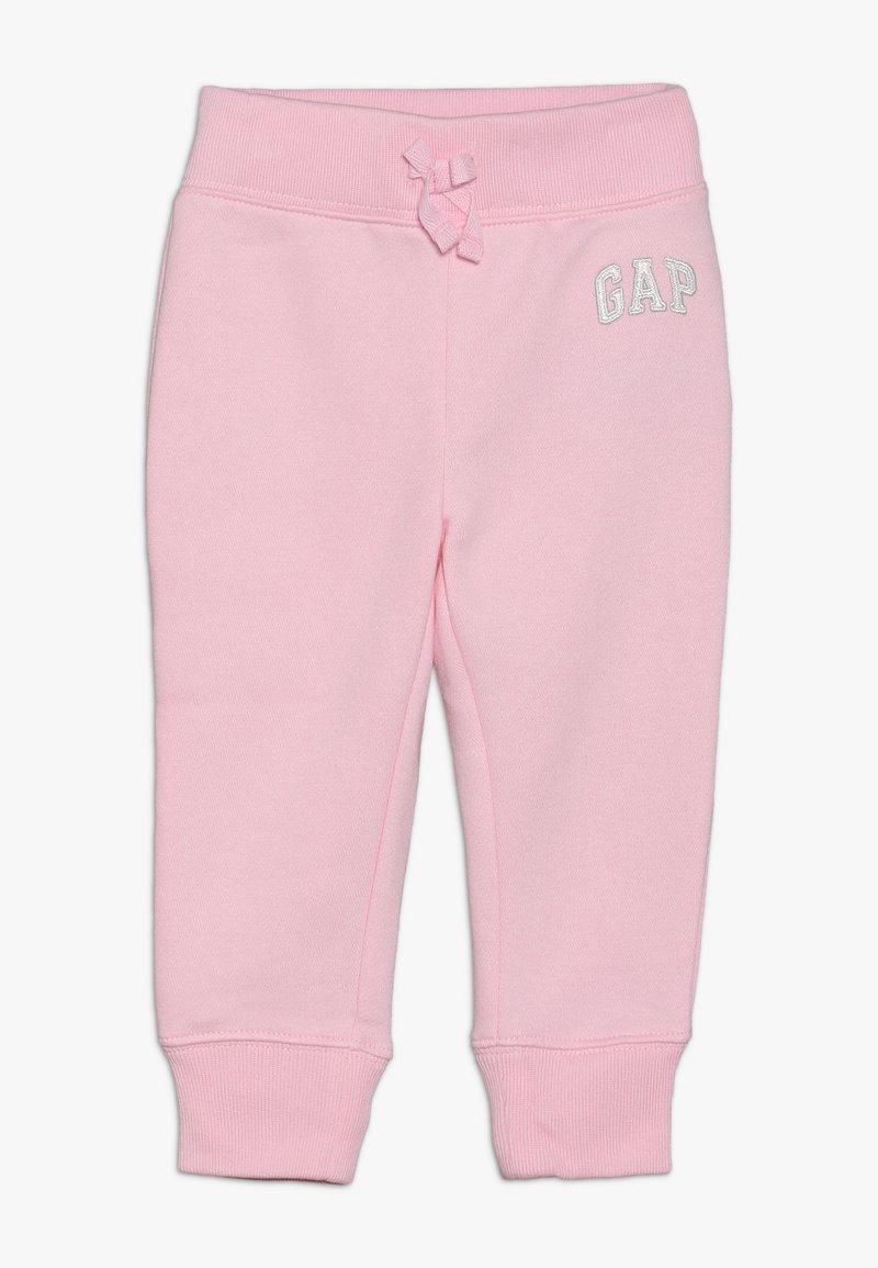 GAP - TODDLER GIRL LOGO  - Tracksuit bottoms - old school pink